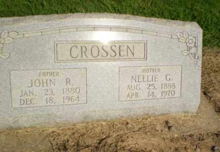 CROSSEN, JOHN R - Clay County, Arkansas | JOHN R CROSSEN - Arkansas Gravestone Photos