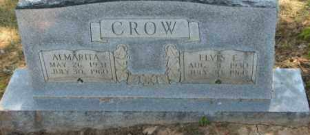 CROW, ALMARETA - Clay County, Arkansas | ALMARETA CROW - Arkansas Gravestone Photos