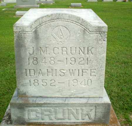 CRUNK, J.M. - Clay County, Arkansas | J.M. CRUNK - Arkansas Gravestone Photos