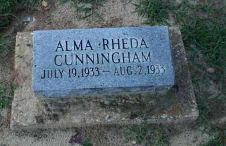 CUNNINGHAM, ALMA RHEDA - Clay County, Arkansas | ALMA RHEDA CUNNINGHAM - Arkansas Gravestone Photos