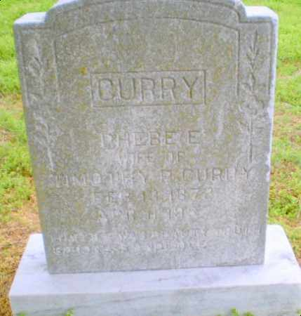 CURRY, PHEBE - Clay County, Arkansas | PHEBE CURRY - Arkansas Gravestone Photos