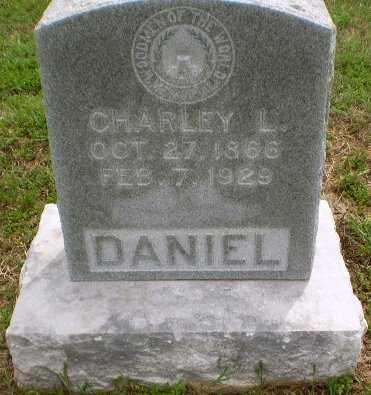 DANIEL, CHALEY L - Clay County, Arkansas | CHALEY L DANIEL - Arkansas Gravestone Photos