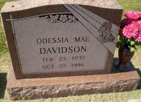 DAVIDSON, ODESSIA MAE - Clay County, Arkansas | ODESSIA MAE DAVIDSON - Arkansas Gravestone Photos
