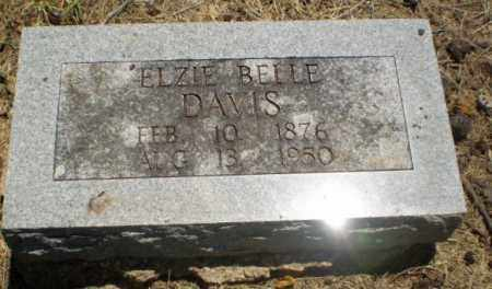 DAVIS, ELZIE BELLE - Clay County, Arkansas | ELZIE BELLE DAVIS - Arkansas Gravestone Photos