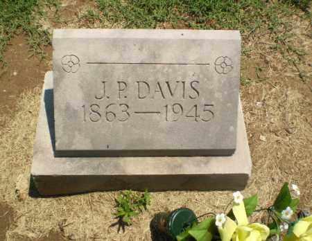 DAVIS, J.P. - Clay County, Arkansas | J.P. DAVIS - Arkansas Gravestone Photos