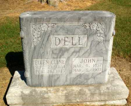 DELL, ELLEN - Clay County, Arkansas | ELLEN DELL - Arkansas Gravestone Photos