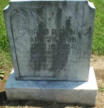 DENNIS, CONRAD B - Clay County, Arkansas | CONRAD B DENNIS - Arkansas Gravestone Photos
