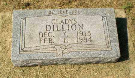 DILLION, GLADYS - Clay County, Arkansas | GLADYS DILLION - Arkansas Gravestone Photos