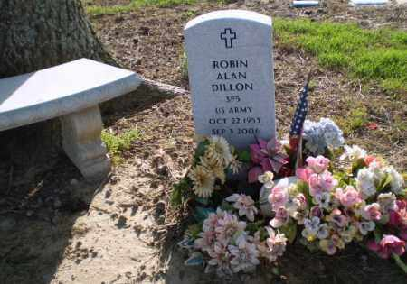 DILLON (VETERAN), ROBIN - Clay County, Arkansas | ROBIN DILLON (VETERAN) - Arkansas Gravestone Photos