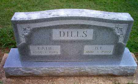 DILLS, B.F. - Clay County, Arkansas | B.F. DILLS - Arkansas Gravestone Photos