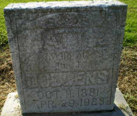 DOBBENS, HATTIE - Clay County, Arkansas | HATTIE DOBBENS - Arkansas Gravestone Photos