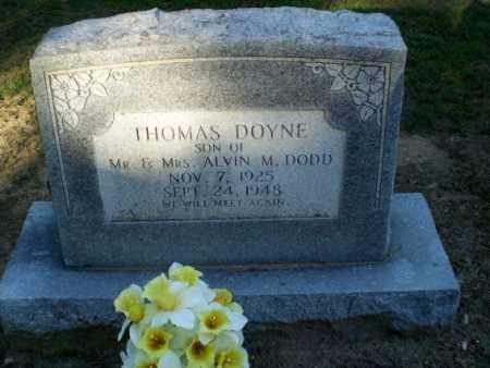 DODD, THOMAS DOYNE - Clay County, Arkansas   THOMAS DOYNE DODD - Arkansas Gravestone Photos