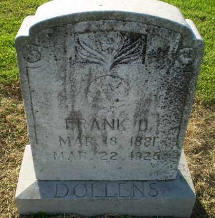 DOLLENS, FRANK D - Clay County, Arkansas | FRANK D DOLLENS - Arkansas Gravestone Photos