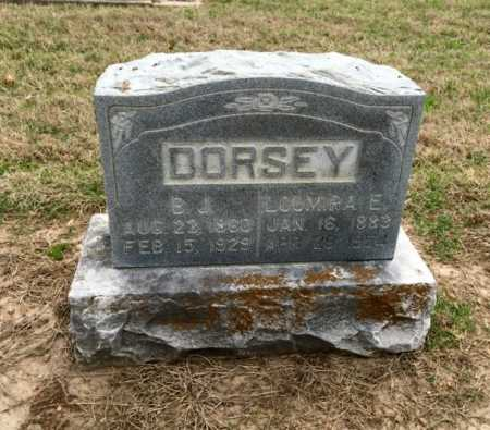 DORSEY, LOUMIRA - Clay County, Arkansas | LOUMIRA DORSEY - Arkansas Gravestone Photos
