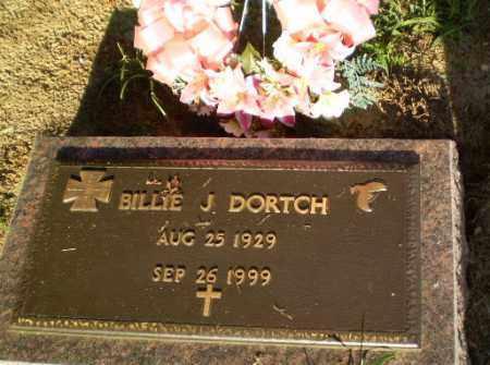 DORTCH, BILLIE J - Clay County, Arkansas | BILLIE J DORTCH - Arkansas Gravestone Photos