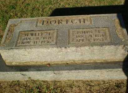DORTCH, JEWELL I - Clay County, Arkansas | JEWELL I DORTCH - Arkansas Gravestone Photos