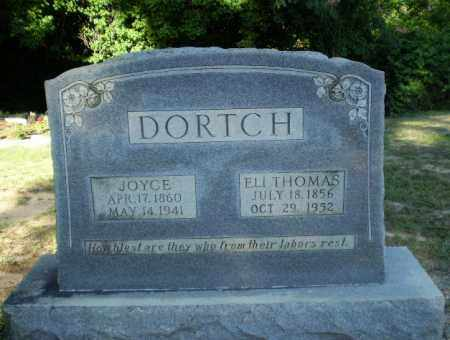 DORTCH, ELI THOMAS - Clay County, Arkansas | ELI THOMAS DORTCH - Arkansas Gravestone Photos