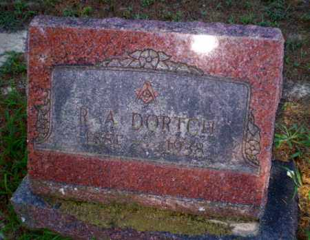 DORTCH, R.A. - Clay County, Arkansas | R.A. DORTCH - Arkansas Gravestone Photos