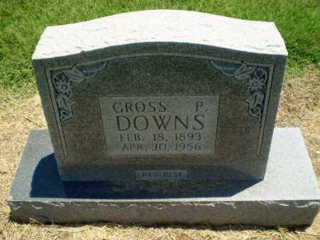 DOWNS, GROSS P - Clay County, Arkansas | GROSS P DOWNS - Arkansas Gravestone Photos