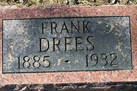 DREES, FRANK - Clay County, Arkansas | FRANK DREES - Arkansas Gravestone Photos