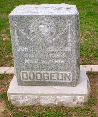 DUDGEON, JOHN - Clay County, Arkansas | JOHN DUDGEON - Arkansas Gravestone Photos