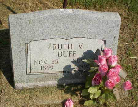 DUFF, RUTH V - Clay County, Arkansas | RUTH V DUFF - Arkansas Gravestone Photos