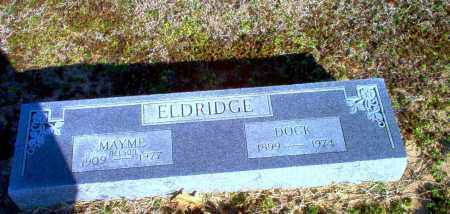 ELDRIDGE, DOCK - Clay County, Arkansas | DOCK ELDRIDGE - Arkansas Gravestone Photos