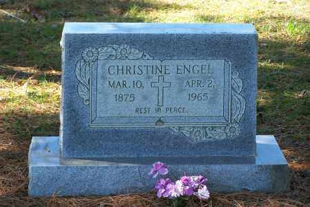 ENGEL, CHRISTINE - Clay County, Arkansas | CHRISTINE ENGEL - Arkansas Gravestone Photos