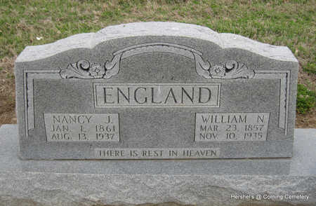 ENGLAND, NANCY J - Clay County, Arkansas | NANCY J ENGLAND - Arkansas Gravestone Photos