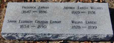 ERMERT, FREDERICK - Clay County, Arkansas | FREDERICK ERMERT - Arkansas Gravestone Photos