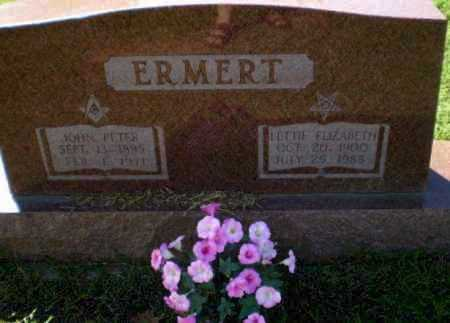 ERMERT, LETTIE ELIZABETH - Clay County, Arkansas | LETTIE ELIZABETH ERMERT - Arkansas Gravestone Photos