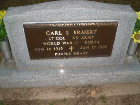 ERMERT (VETERAN 2 WARS), CARL L - Clay County, Arkansas | CARL L ERMERT (VETERAN 2 WARS) - Arkansas Gravestone Photos