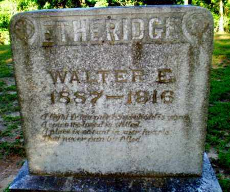 ETHERIDGE, WALTER E - Clay County, Arkansas | WALTER E ETHERIDGE - Arkansas Gravestone Photos