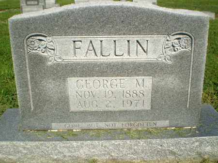 FALLIN, GEORGE M - Clay County, Arkansas | GEORGE M FALLIN - Arkansas Gravestone Photos