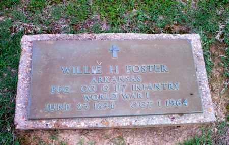 FOSTER  (VETERAN WWI), WILLIE H - Clay County, Arkansas | WILLIE H FOSTER  (VETERAN WWI) - Arkansas Gravestone Photos