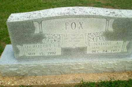 FOX, DR, ROBERT L - Clay County, Arkansas | ROBERT L FOX, DR - Arkansas Gravestone Photos
