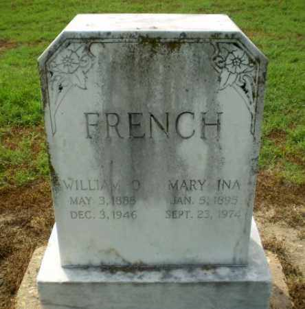 FRENCH, WILLIAM O - Clay County, Arkansas | WILLIAM O FRENCH - Arkansas Gravestone Photos