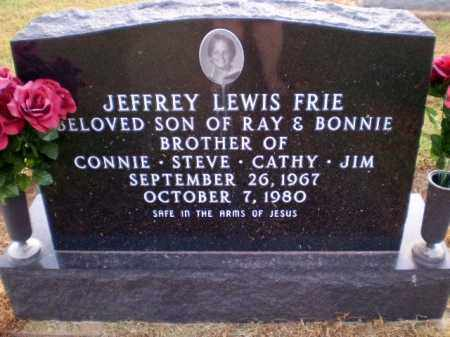 FRIE, JEFFREY LEWIS - Clay County, Arkansas | JEFFREY LEWIS FRIE - Arkansas Gravestone Photos