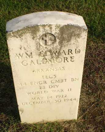 GALEMORE  (VETERAN WWII, KIA), WILLIAM EDWARD - Clay County, Arkansas | WILLIAM EDWARD GALEMORE  (VETERAN WWII, KIA) - Arkansas Gravestone Photos