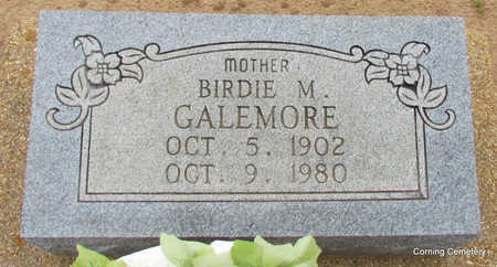 GALEMORE, BIRDIE M - Clay County, Arkansas | BIRDIE M GALEMORE - Arkansas Gravestone Photos