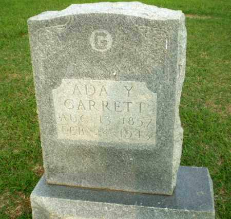 GARRETT, ADA Y - Clay County, Arkansas | ADA Y GARRETT - Arkansas Gravestone Photos