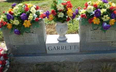 GARRETT, DANIEL M - Clay County, Arkansas | DANIEL M GARRETT - Arkansas Gravestone Photos