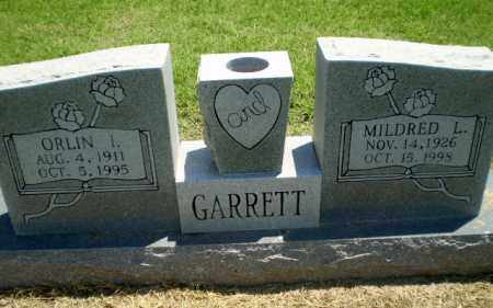GARRETT, ORLIN L - Clay County, Arkansas | ORLIN L GARRETT - Arkansas Gravestone Photos