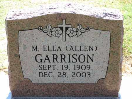 GARRISON, M. ELLA - Clay County, Arkansas | M. ELLA GARRISON - Arkansas Gravestone Photos