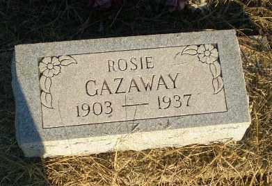GAZAWAY, ROSIE - Clay County, Arkansas | ROSIE GAZAWAY - Arkansas Gravestone Photos