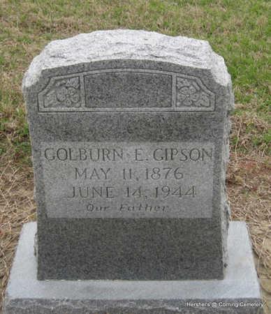 GIPSON, GOLBURN E - Clay County, Arkansas | GOLBURN E GIPSON - Arkansas Gravestone Photos