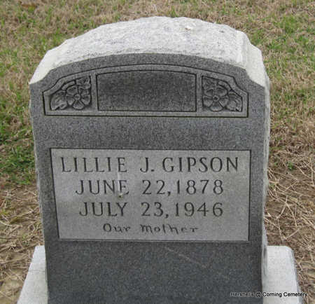 GIPSON, LILLIE J - Clay County, Arkansas | LILLIE J GIPSON - Arkansas Gravestone Photos