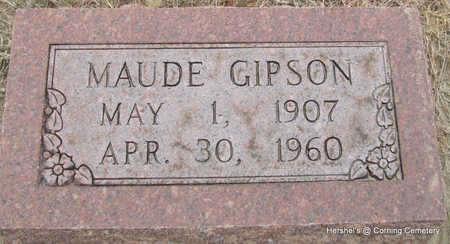 GIPSON, MAUDE - Clay County, Arkansas | MAUDE GIPSON - Arkansas Gravestone Photos