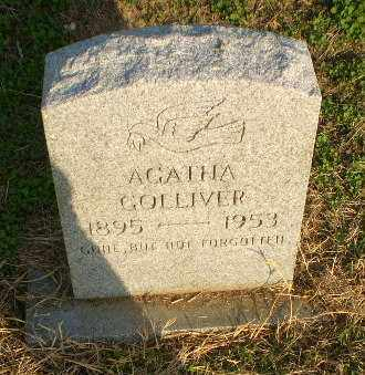 GOLLIVER, AGATHA - Clay County, Arkansas | AGATHA GOLLIVER - Arkansas Gravestone Photos