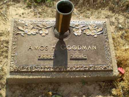 GOODMAN, AMOS H - Clay County, Arkansas | AMOS H GOODMAN - Arkansas Gravestone Photos